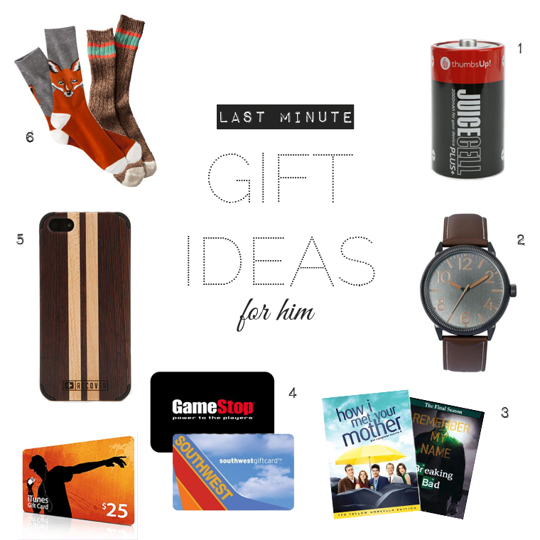 12 Days Of Christmas Gifts For Boyfriend: 6 Last Minute Christmas Gifts For Husband