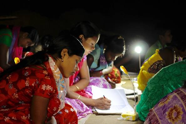 BSF Goes on to Distribute Solar Plates, Lanterns to the Villagers in Rajasthan