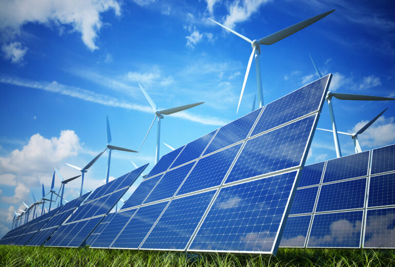 Solar and Wind Energy Make Up for Shortfall