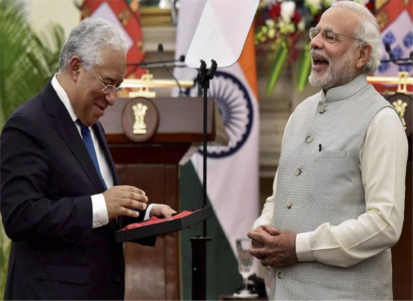 A MoU Signed between India and Portugal
