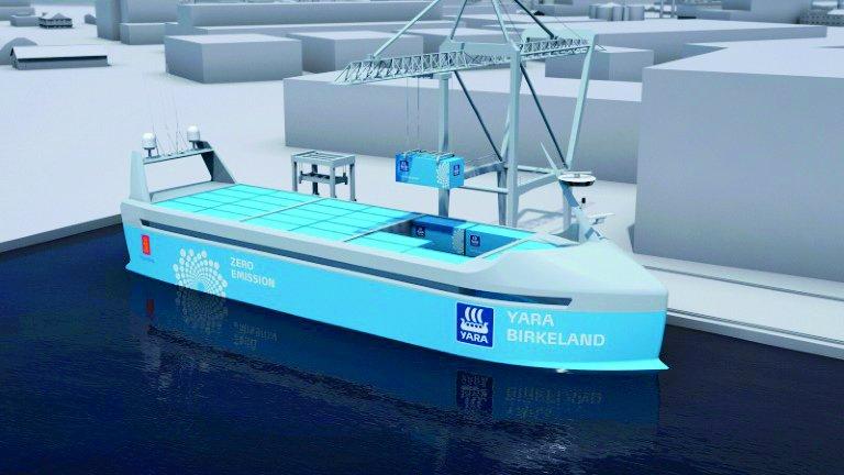 drone cargo ships
