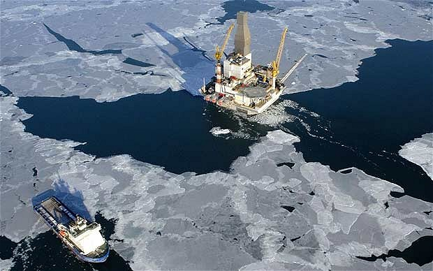 arctic oil and gas drilling