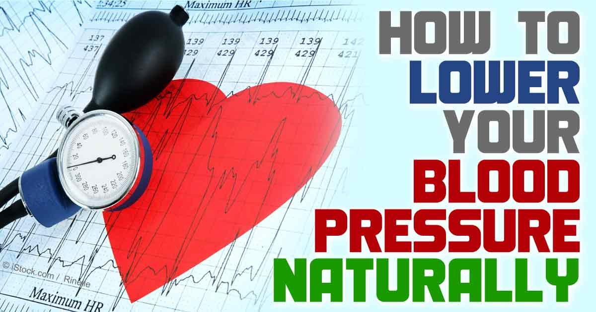 natural way to control blood pressure