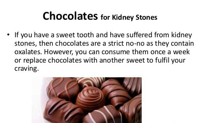 Chocolate Increases Risk Of Kidney Stones