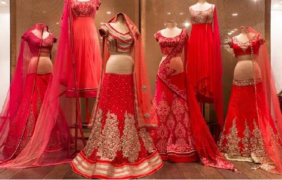 indian bridal shopping