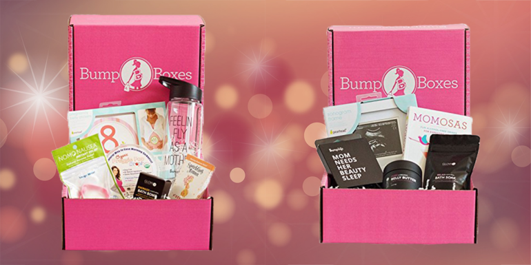 Bump Boxes pregnancy gift for valentines day