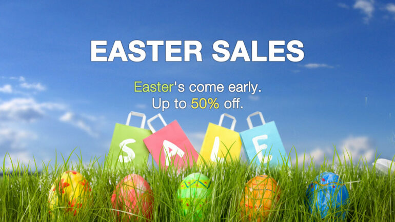 Easter is Sunday, and retailers are pulling out their best discounts to entice consumers to do some shopping in the days leading up to the spring holiday.