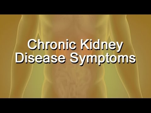 Early Warning Signs and Symptoms Of Chronic Kidney Disease