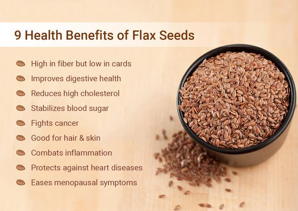 Flax Seeds Can Naturally Lower Cholesterol - Health Benefits of Flax Seeds