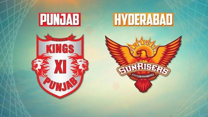 Kings XI Punjab and Sunrisers Hyderabad
