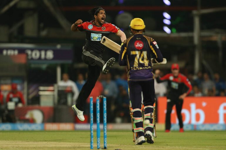 Kolkata Knight Riders vs. Royal Challengers Bangalore