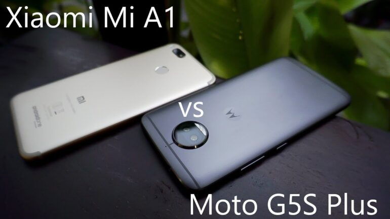 Moto G5S Plus vs. Xiaomi Mi A1