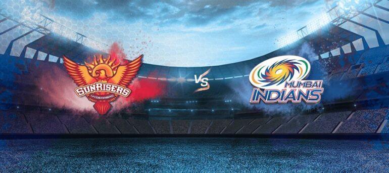 Sunrisers Hyderabad vs Mumbai Indian