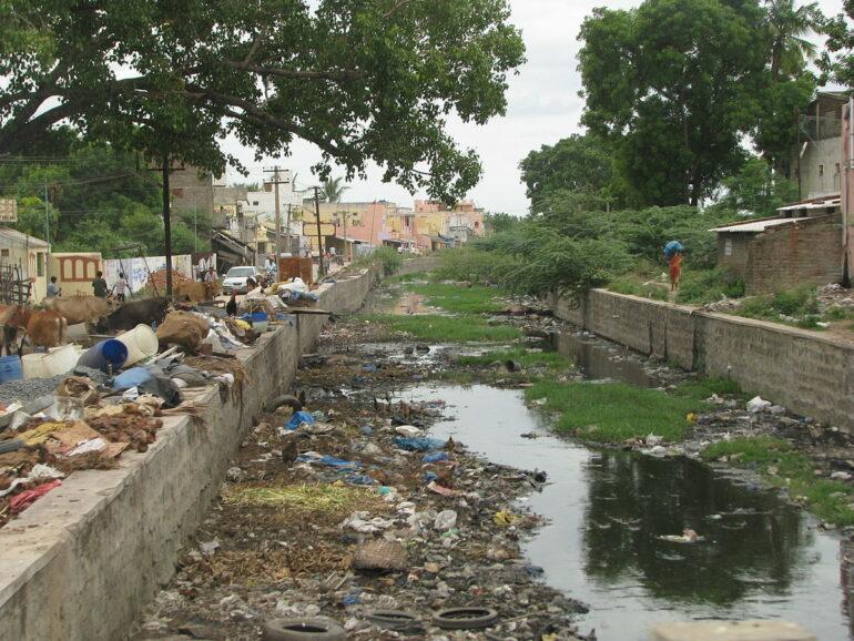 bangalore Toxic Sewage Water