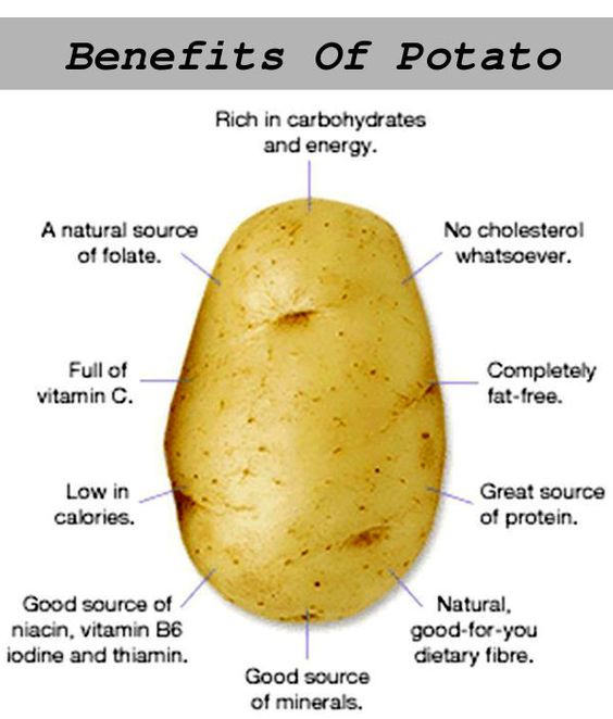 health benefits of consuming potatoes