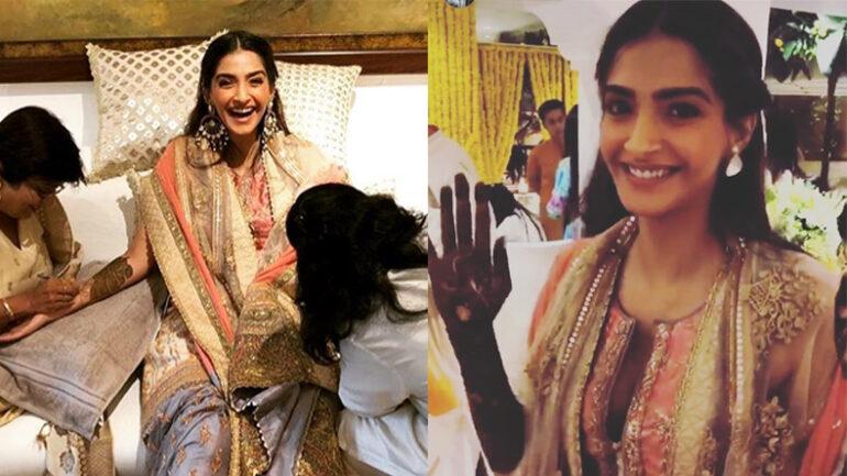 Sonam Kapoor-Anand Ahuja Mehndi, wedding & reception party
