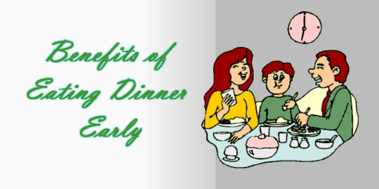 WHEN DINNER? WHY DINNER?