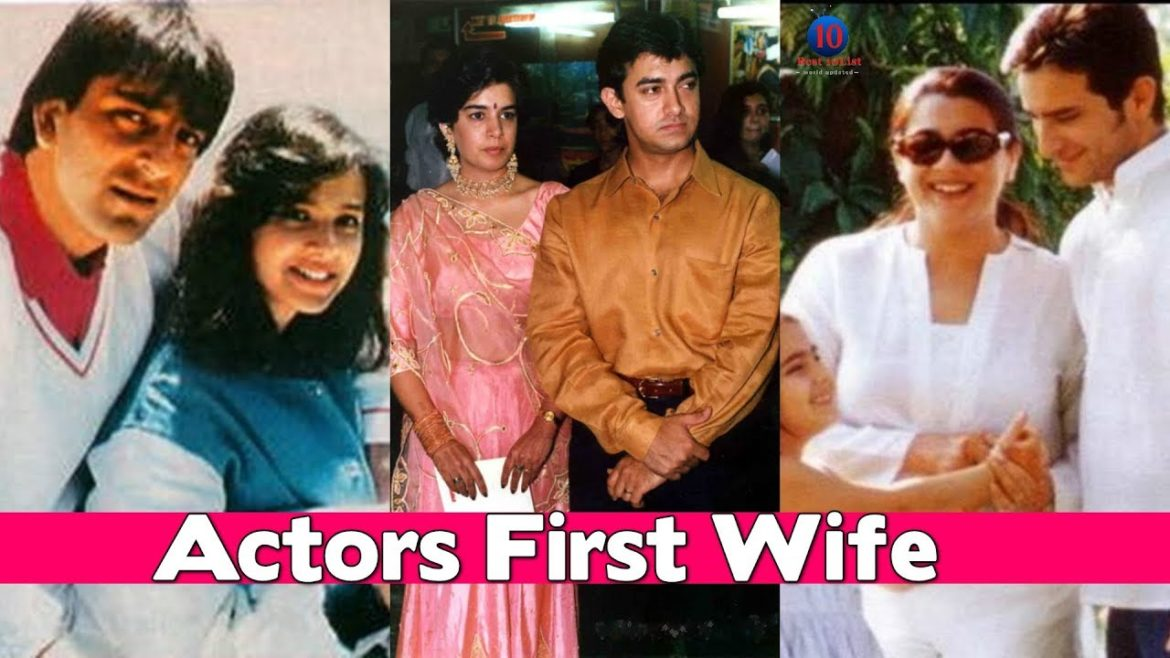 5 Famous Bollywood Actors who divorced their First Wives & got married to Someone Else