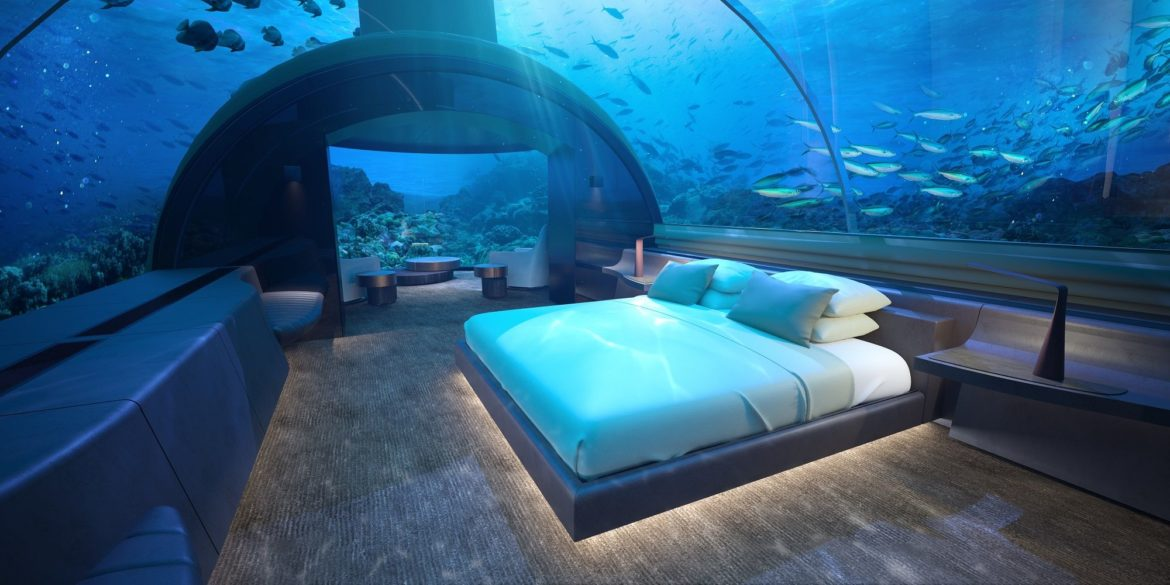 First ever underwater resort in Maldives