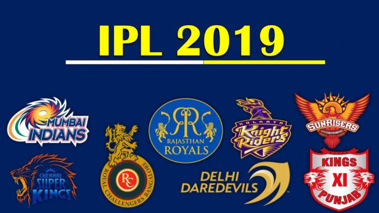 Everything you need to know about the upcoming IPL2019: Teams, Players, & Match Timings!