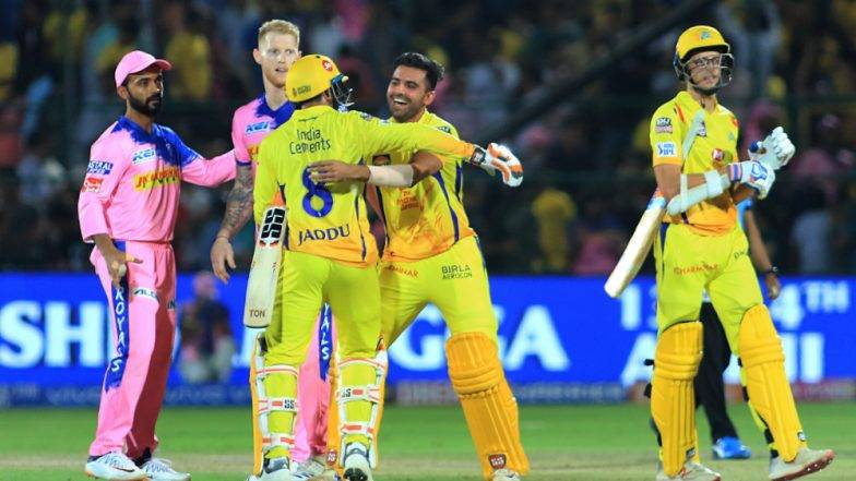 IPL 2019 CSK vs RR: A Thrilling Last Ball Win by Chennai SuperKings