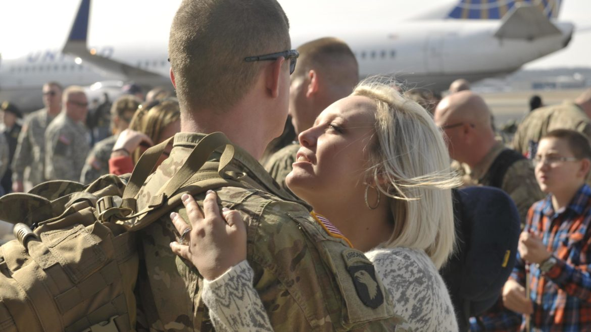 Declining Divorce Rates Can't Mask Problems Faced By Military Marriages