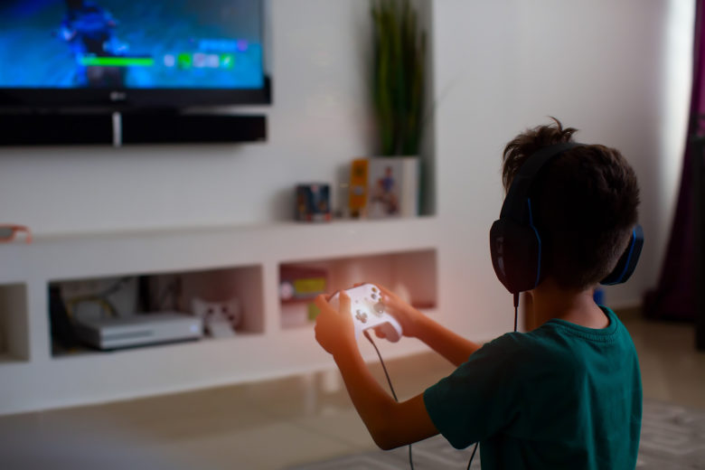 How parents can help their kids play less video games