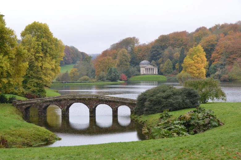 Stourhead House and Garden in England