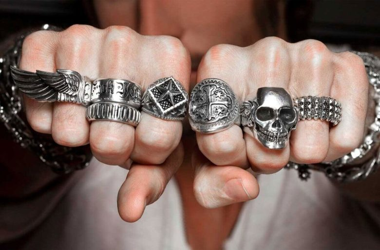 These are some of the best looking biker rings
