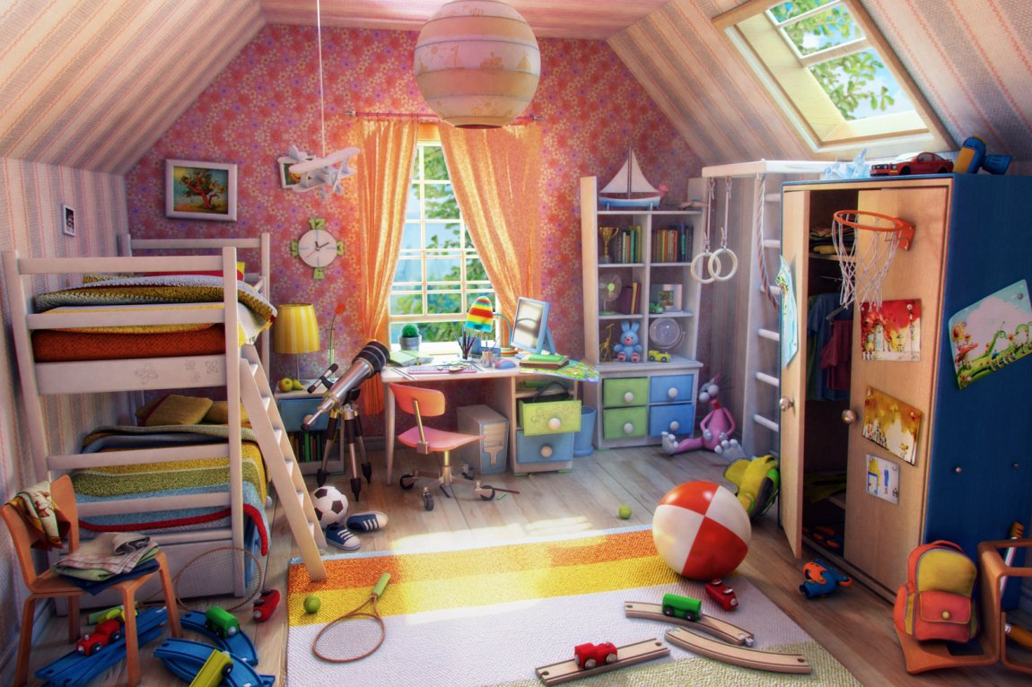How to Deal with a Messy Kid's Room